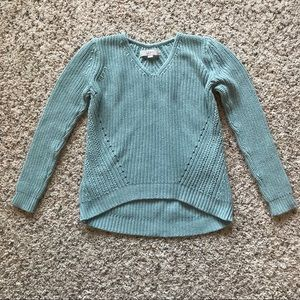 Loft sea foam sweater